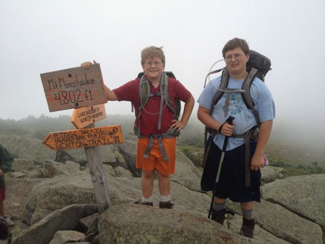 Moosilauke summit
