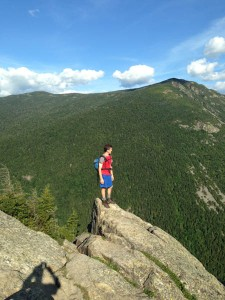 Dave on Mount Willard