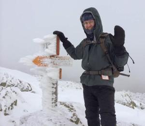 David at the summit.