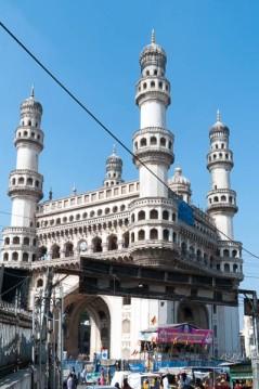 Photo of Charminar building, Hyderabad.