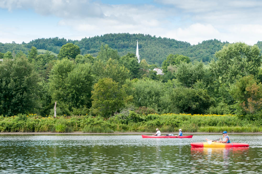 Connecticut River paddle
