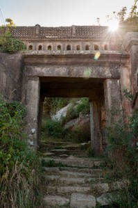 photo of ancient stone gateway