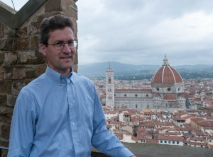 The view of the Duomo from the tower at Palazzo Vecchio - Florence