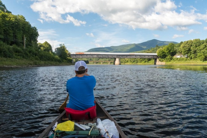 Connecticut River canoe trip