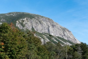 Cannon Mountain cliffs, viewed from Franconia Notch.