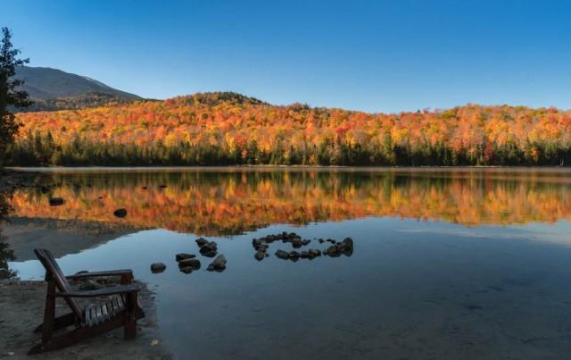 Heart Lake near Adirondac Loj.