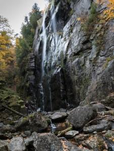 David at Rainbow Falls.
