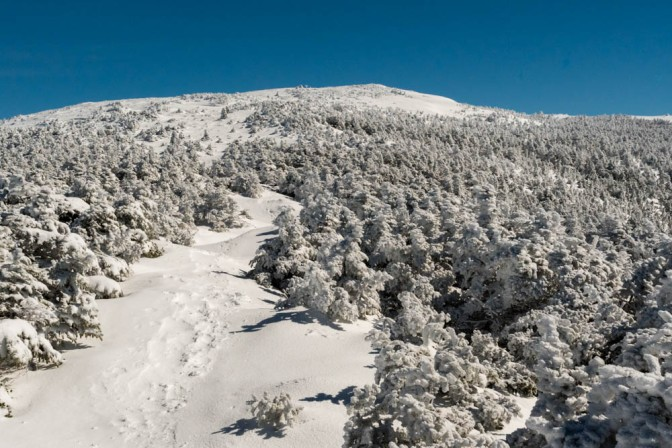 Still winter on Moosilauke