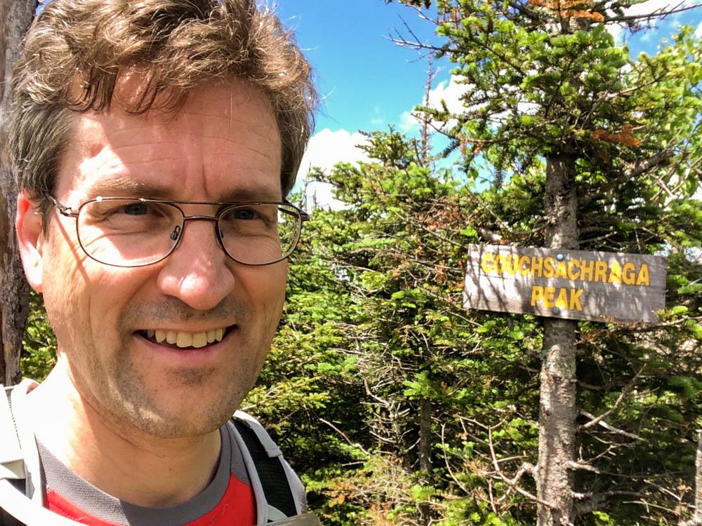David on the Couchsachraga summit.