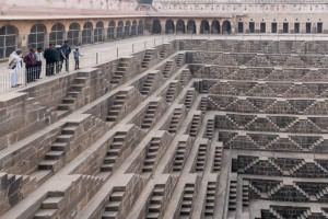 Chand Baori step well.