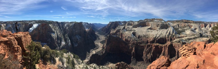 Panorama from Observation Point.