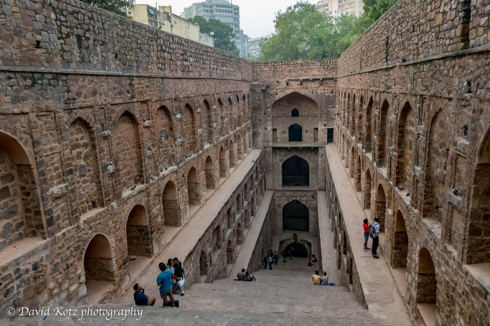 Ugrasen ki Baoli, a stepwell in New Delhi.