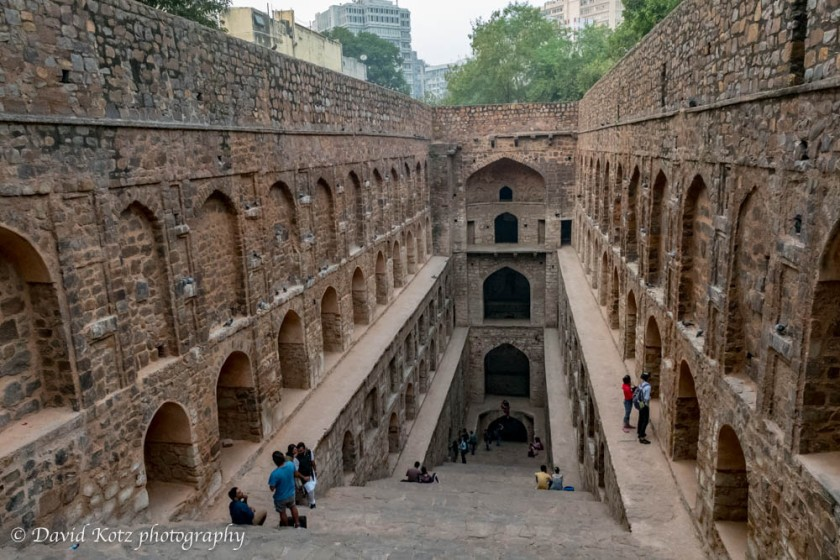 Ugrasen ki Baoli, a stepwell in New Delhi.