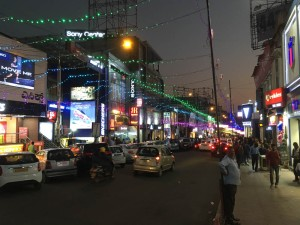 Brigade Road - always a bustling place in the evening.
