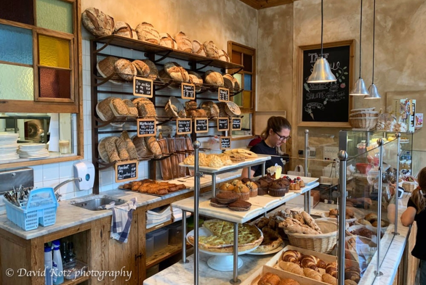 Bakery in Zurich.