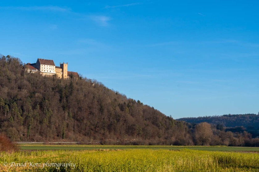 Schloss Weitenburg, in Sulzau, Germany, original home of Franz Kotz.